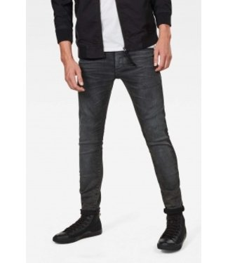 G-Star 3301 deconstructed skinny donkerblauw D04151-a126-89