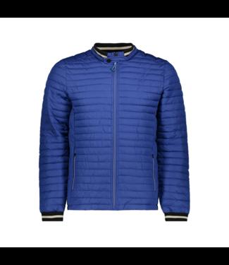 No Excess Jacket, short fit, dull nylon, fake Indigo Blue 90630205