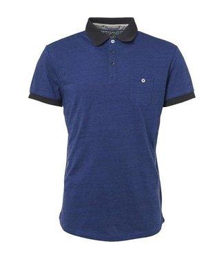 No Excess Polo, S/Sl, injection yarn, jacq.co Indigo Blue 90370200