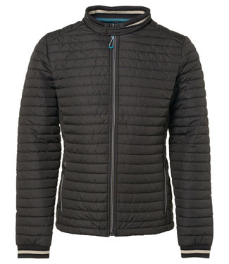 No Excess Jacket, short fit, dull nylon, fake motorblack 90630205