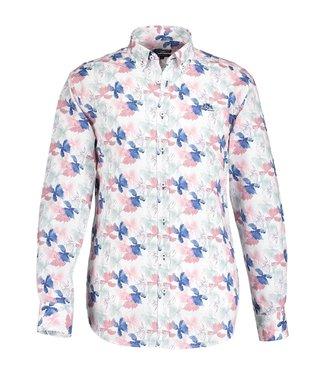 State of Art Shirt LS Printed Pop oud roze 214-19131-4257