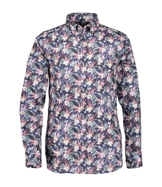 State of Art Shirt LS Printed Pop oud roze 214-19214-4257