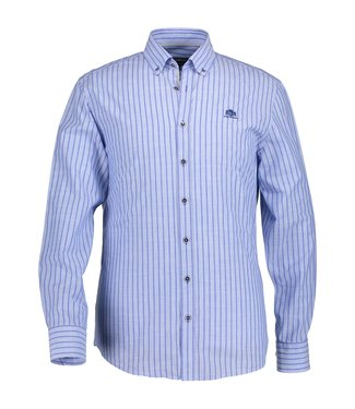 State of Art Shirt Striped mintblauw 212-19147-5257