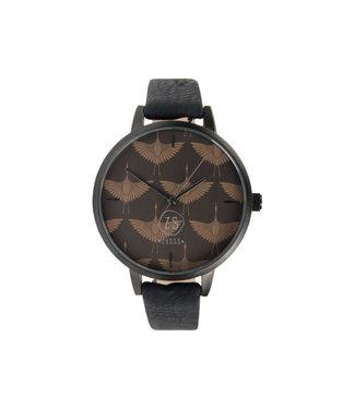Zusss Hip Horloge zwart 04HH19v