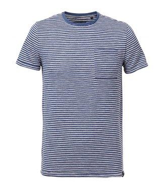 Petrol Industries T-shirt ss r-neck lichtblauw m-ss19-tsr612