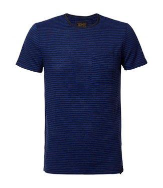 Petrol Industries T-shirt ss r-neck donkerblauw m-ss19-tsr612