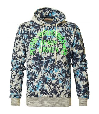 Petrol Industries Sweater hooded blauw m-ss19-swh322
