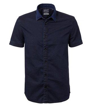 Petrol Industries Shirt ss donkerblauw m-ss19-sis440