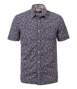 Petrol Industries Shirt ss donkerblauw m-ss19-sis428