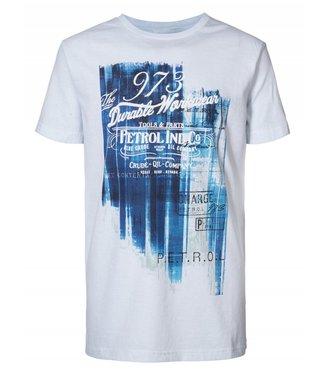 Petrol Industries T-shirt ss r-neck lichtblauw M-SS19-TSR687