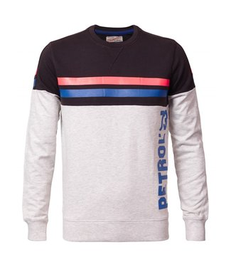 Petrol Industries Sweater r-neck grijs M-SS19-SWR329