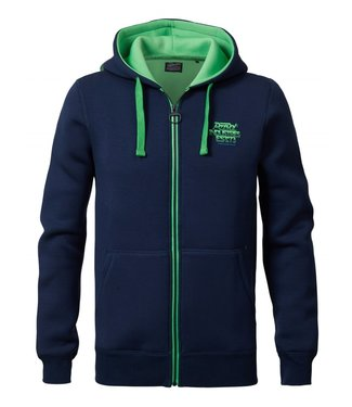 Petrol Industries Sweater Hooded blauw M-SS19-SWH307