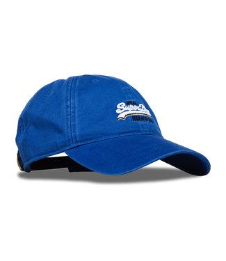 Superdry Twill cap blauw m90013mt
