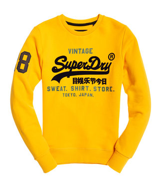 Superdry Sweat shirt geel m20102it