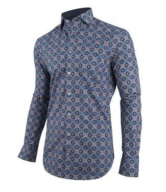 Cavallaro Danilo shirt blauw 1091007