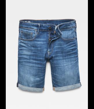 G-Star 3301 Slim 1/2 shorts blauw D10481-8968-6028