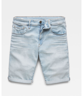 G-Star 3301 slim 1/2 length shorts lichtblauw D10481-8968-4974
