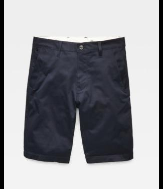 G-Star Bronson straight 1/2 length shorts donkerblauw D06656-5126-4213
