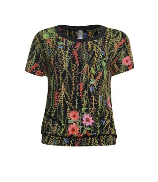 Poools Blouse flower multicolour 923117