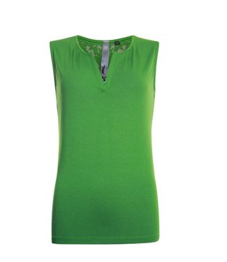 Poools T-shirt croched groen 923115