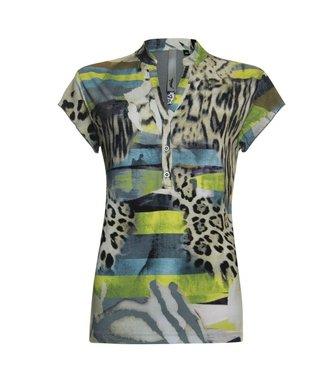 Poools T-shirt groen 913221
