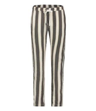 PENN&INK N.Y Trouser stripe zwart s19f456