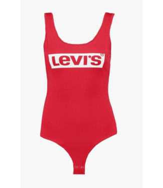 Levi's Graphic bodysuit rood 57787-0006