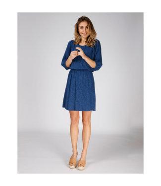 Moscow Dress blauw SP19-28.02