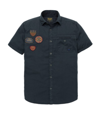 PME Legend Short Sleeve Shirt Cargo Twill Fred Salute PSIS192241