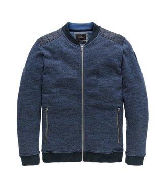 Vanguard Zip jacket Multigrain Dark Sapphire VSW191216