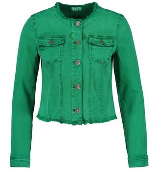 Taifun BLAZER LONG-SLEEVE EMERALD GREEN 330056-11132