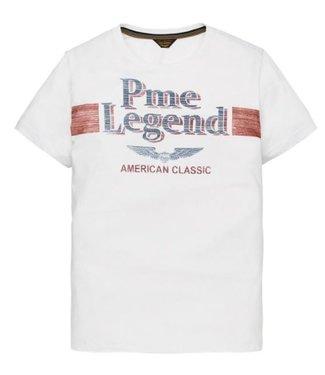 PME Legend Short sleeve r-neck Play LW Tshirt Bright White PTSS194532