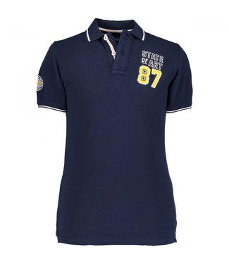 State of Art Poloshirt Piqu? SS P donkerblauw 461-19420-5900