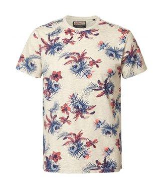 Petrol Industries T-shirt ss r-neck grijs M-HS19-TSR714