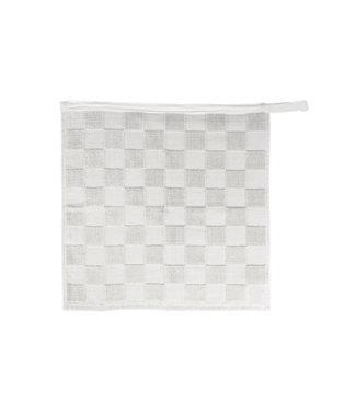 Zusss Handdoek geblokt wit 07HD19v