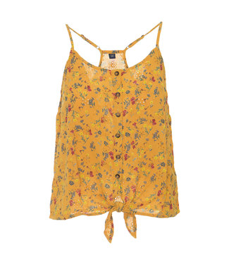 Superdry Emilie tie knot cami geel G60124OT