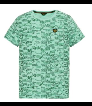 PME Legend Short sleeve r-neck Slub Jersey AO Opal PTSS194537