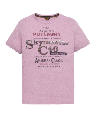 PME Legend Short sleeve r-neck Hobbs Tshirt Lavender Crystal PTSS194533