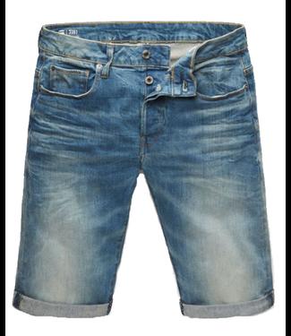 G-Star 3301 Custom short blauw D15230-6541-424