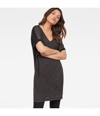 G-Star Joosa v dress 1/2 slv zwart D14166-B059-6484