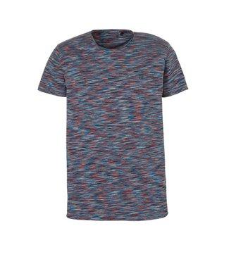 No Excess T-shirt s/sl, R-Neck, multi col spa Shadow Blue 91350512