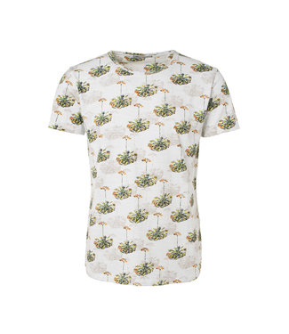 No Excess T-shirt s/sl, R-Neck, AO print, out Chalk 91350431