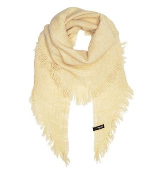10Days Triangle scarf off white 20-914-9103