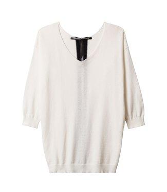 10Days V-neck sweater zand 20-613-9101