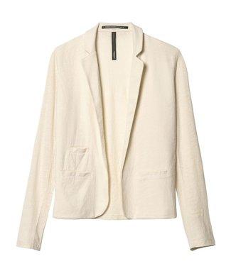 10Days Linen blazer tee wit 20-504-9103