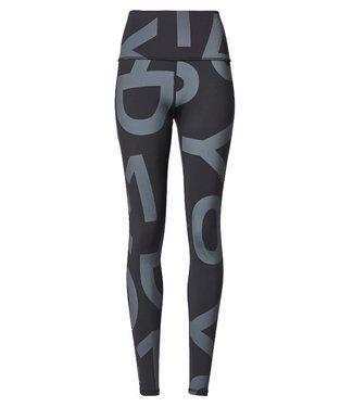 10Days Yoga leggings big logo grijs 20-028-9103