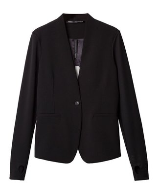 10Days Stretch blazer zwart 20-500-9900