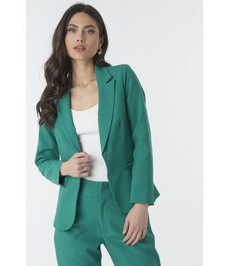 NA-KD Slim fit tailored blazer groen 1018-002320