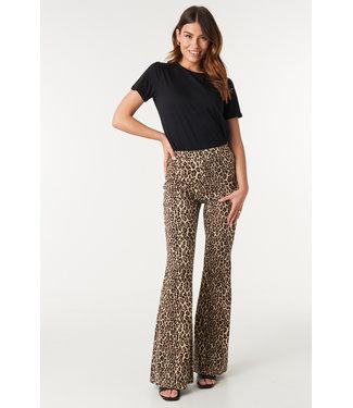 NA-KD High waist flare leggings bruin 1018-002341