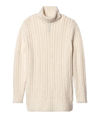 10Days Cable sweater off white 20-608-9103